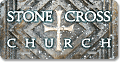 Stone Cross Church custom car tag design sample